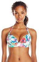 Bleu Rod Beattie Bleu | Rod Beattie Women's Fresh Start Halter Bikini Top