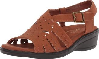 Easy Street Shoes Women's Roxanne Flat Sandal