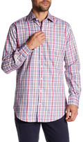 Peter Millar Herron Plaid Long Sleeve Classic Fit Shirt