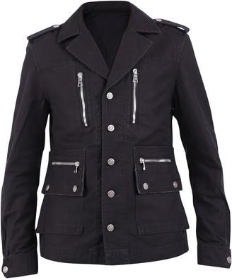 Balmain Zip Up Denim Jacket