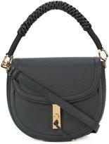 Altuzarra woven handle saddle bag - women - Calf Leather - One Size