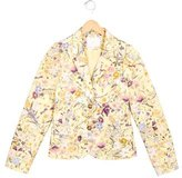 Gucci Girls' Floral Print Fitted Jacket w/ Tags