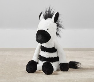 Pottery Barn Kids Zebra Cuddle Plush