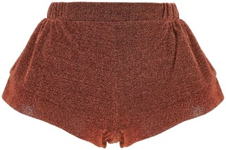 Oseree Lurex Stretch Shorts