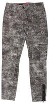 Alice + Olivia Skinny-Leg Mid-Rise Jeans