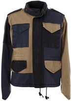 Kolor patchwork 'Beacon' jacket - men - Cotton/Cupro - 3