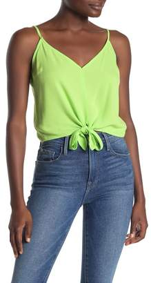 Mustard Seed Tie Front V-Neck Camisole