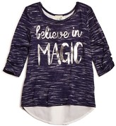 Lily Bleu Girls' Believe In Magic Top - Sizes 2-6X
