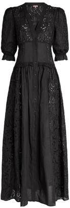 Ermanno Scervino Lace-Detail Shirt Dress