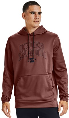 Under Armour Men's Armour Fleece Graphic Wordmark Hoodie
