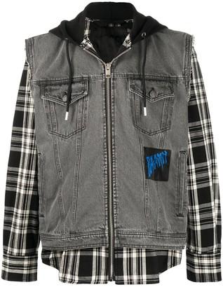 Diesel Hooded Overshirt Denim Jacket