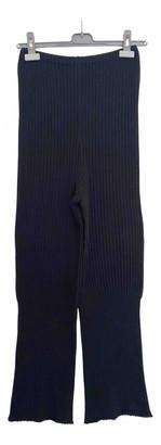 Yohji Yamamoto Black Cotton Trousers