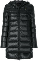 Blauer padded hooded jacket