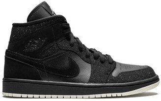 Jordan Air 1 MID glitter black