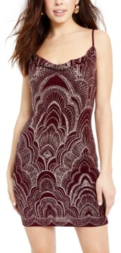 Jump Juniors' Glitter Bodycon Dress
