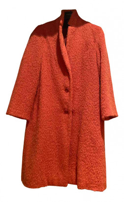 Aspesi Orange Wool Coats