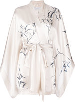 Carine Gilson printed short kimono