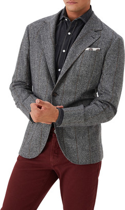 Brunello Cucinelli Men's Herringbone Pinstripe Sport Jacket