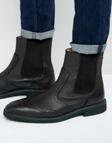 Selected Homme Dwight Leather Chelsea Boots