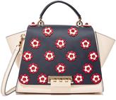 Zac Posen Eartha Floral Soft Top Handle Bag