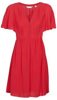 Naf Naf LAFORTUNE R1 women's Dress in Red