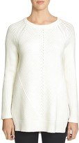 1 STATE 1.state Ribbed Tunic Sweater