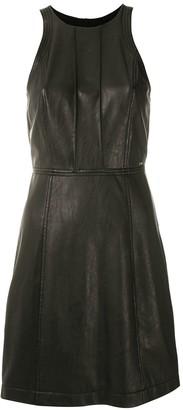 Armani Exchange Sleeveless Fitted Mini Dress