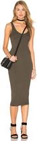Enza Costa Silk Rib Tank Dress
