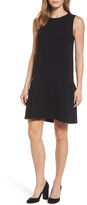 Halogen Flounce Back Shift Dress (Regular & Petite)