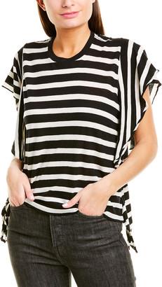R 13 Striped Flutter T-Shirt