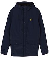 Lyle & Scott Micro Fleece Lined Jacket, Navy