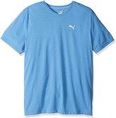 Puma Men's Essential Short Sleeve Vneck