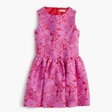 J.Crew Girls' full-skirt dress in floral lace print