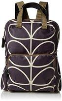 Orla Kiely Womens Matt Laminated Linear Stem Print Backpack Tote Backpack