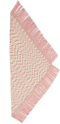 Missoni Printed Fringe Woven Shawl