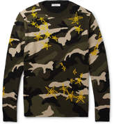 Valentino Printed Virgin Wool Sweater