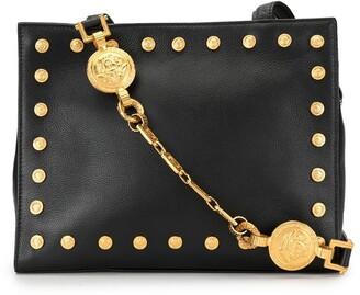 Versace Pre Owned Medusa stud tote bag