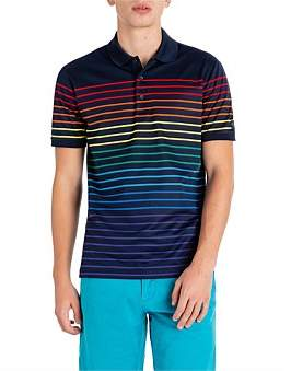 Paul & Shark S/S Multi Thin Stripe Polo