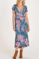 Billabong Wrap Me Midi Dress