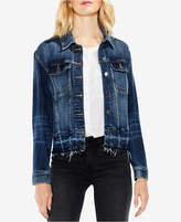 Vince Camuto Released-Hem Denim Jacket