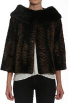 Members Only Vintage Faux-Fur Jacket