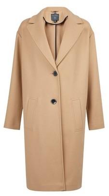 Dorothy Perkins Womens **Tall Camel Underlined Coat