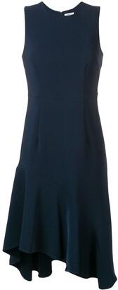 P.A.R.O.S.H. Asymmetric Peplum Dress