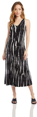 Karen Kane Midi Dress (Tie-Dye) Women's Clothing