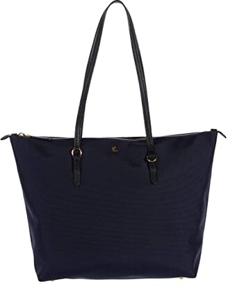 Lauren Ralph Lauren Keaton 26 Shopper (Navy) Handbags