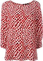 Steffen Schraut printed blouse - women - Spandex/Elastane/Silk Velvet - 38