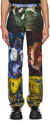 Ottolinger Multicolor Lucie Stahl Edition Straight Trousers