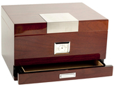 Bey-Berk Walnut Wood Humidor