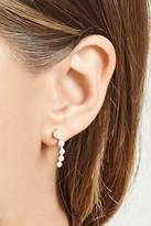 Forever 21 Faux Pearl Pin Earrings