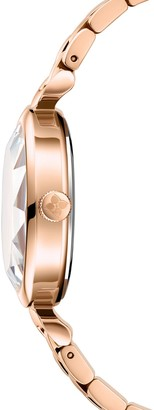 BCBGMAXAZRIA Classic Rose Goldtone Stainless Steel Bracelet Watch